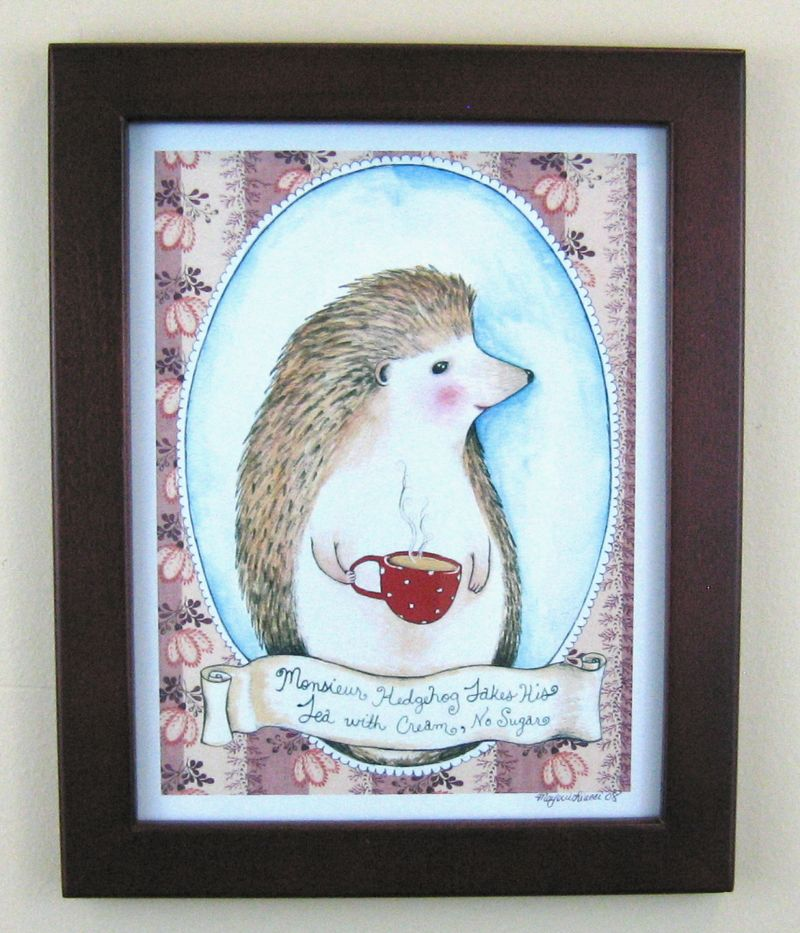 Monseuirhedgehogprint
