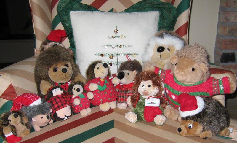 Christmashedgehogs