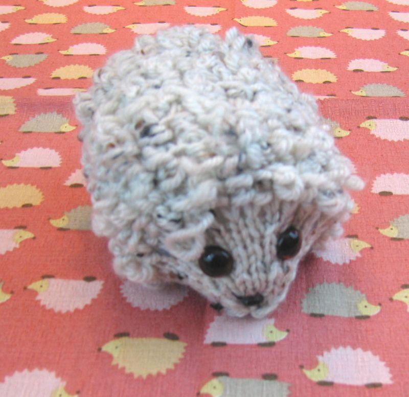 Knittedhedgehog