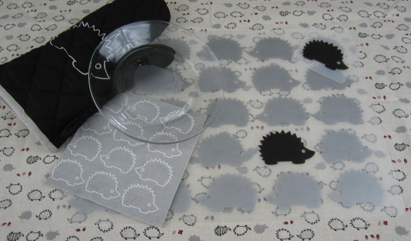 Hedgehogplacemats