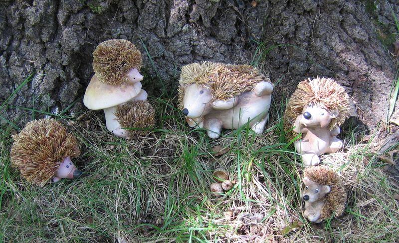 Clayfiberhedgehogs