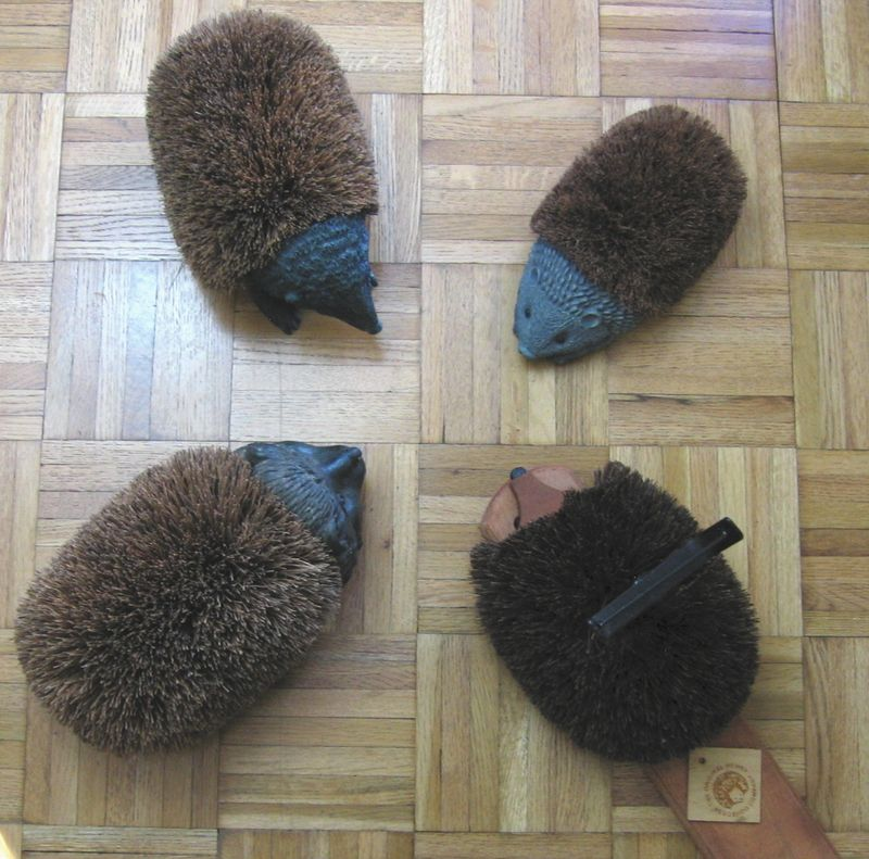 Hedgehogbootscrapers