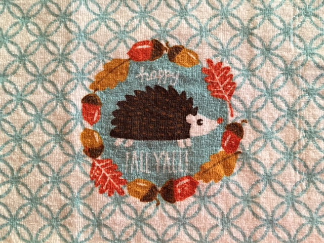 Hedgehogtowel